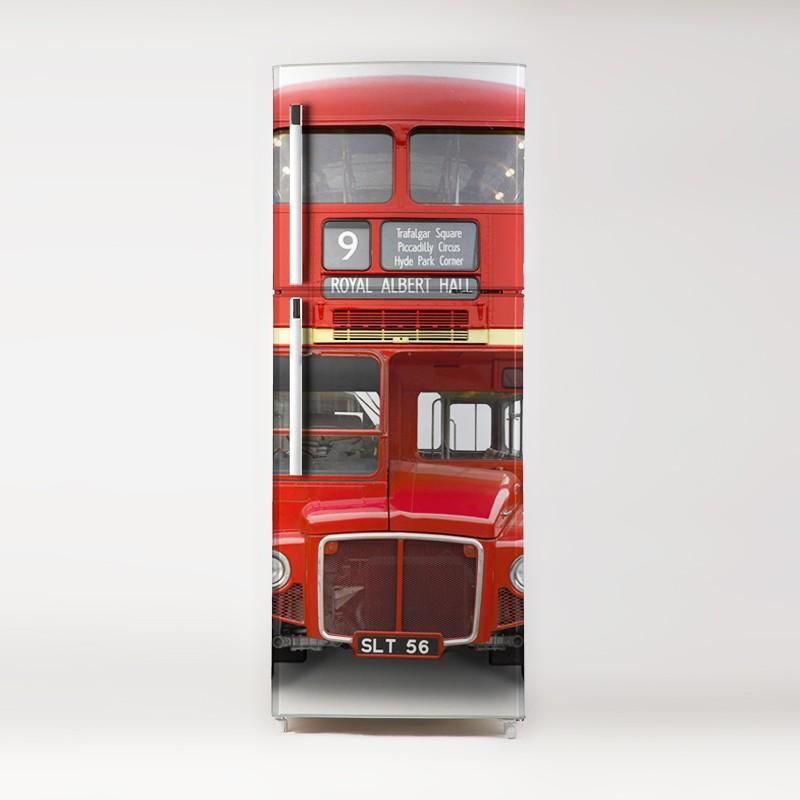 Vinilo londo bus para frigor fico for Vinilos adhesivos para frigorificos