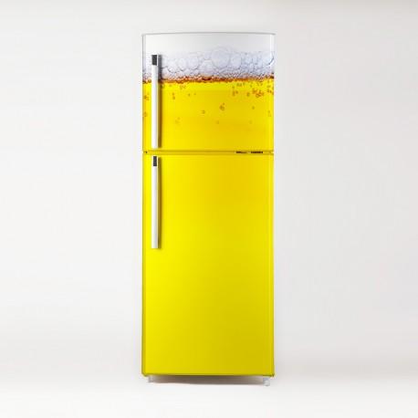 Vinilo frigo cerveza ambiente