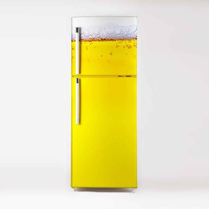 Vinilo cerveza para frigor fico - Nevera para cerveza ...