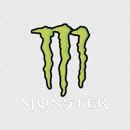 Pegatina Monster