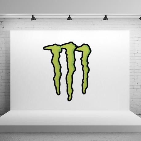 Pegatina Monster sin texto