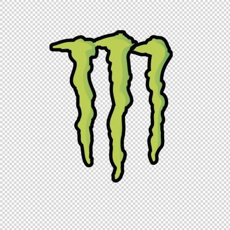 Pegatina Monster sin texto en venta
