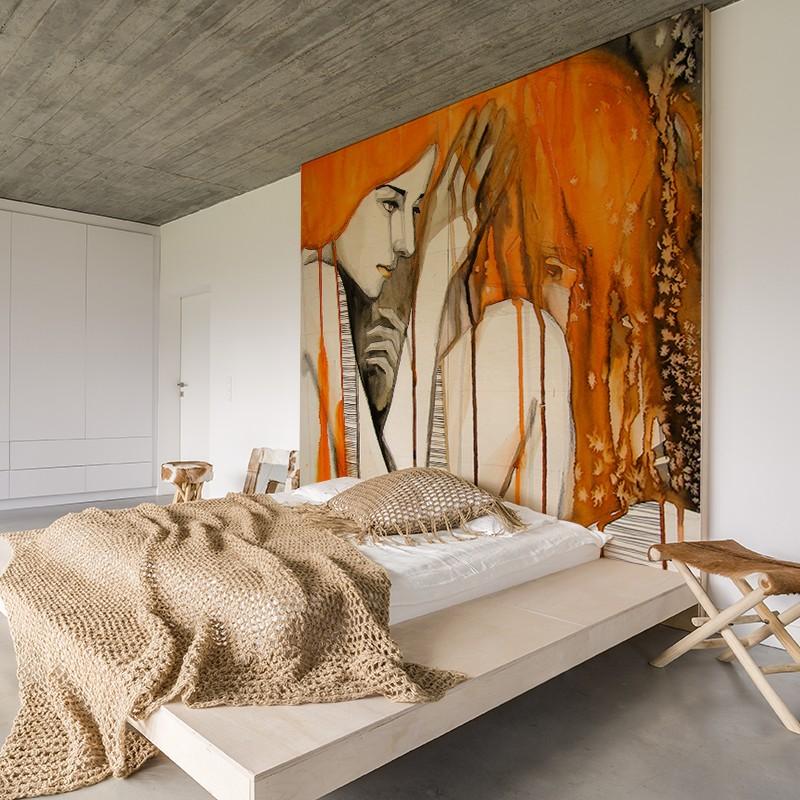 fotomural para decoración dormitorio imagen