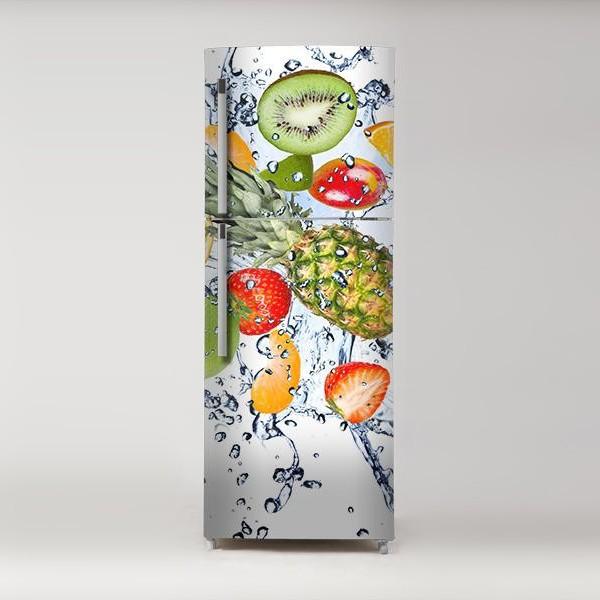 Vinilos adhesivos frigoríficos fruta