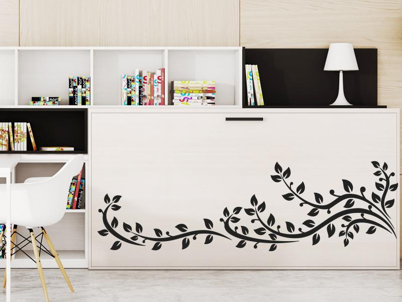 vinilo ornamental en mueble